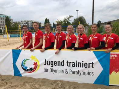 Teamfoto Beachvolleyball
