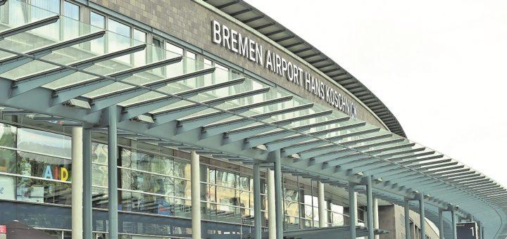 Rund 1,5 Millionen Passagiere nutzten von Januar bis August den Bremer Flughafen, 13,1 Prozent weniger als ein Jahr zuvor. Insgesamt stieg die Zahl der Fluggäste an den deutschen Airports um 3,2 Prozent auf 166 Millionen.Foto: Schlie