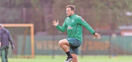 Kurz vor dem Comeback? Philipp Bargfrede ist jedenfalls wieder ins Mannschaftstraining eingestiegen.Foto: Nordphoto