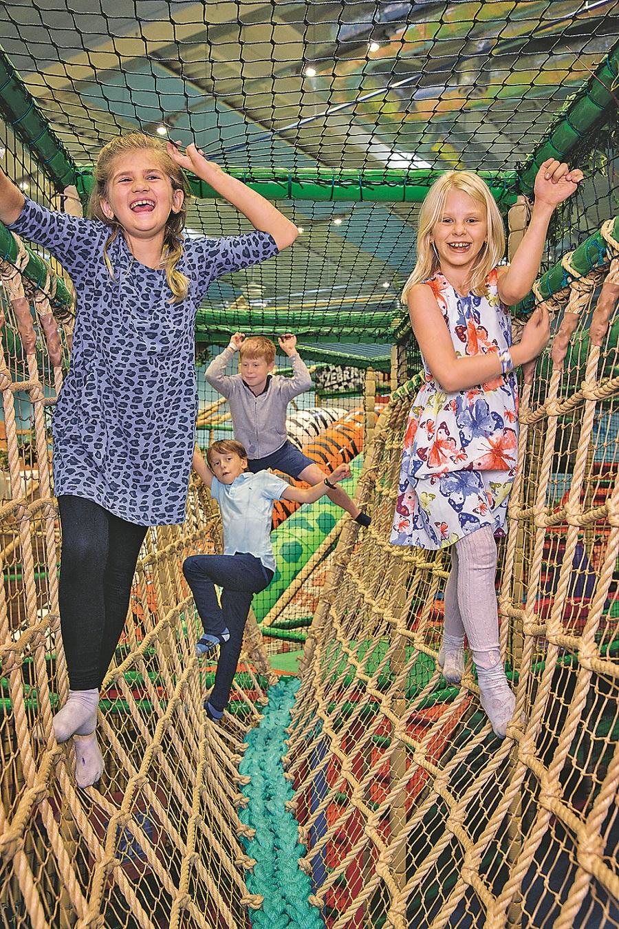 "Am 3. Oktober eröffnet der Indoor-Spielplatz ""Leo's Abenteuerpark"" in Bremen. Foto: Leo´s Abenteuerpark"