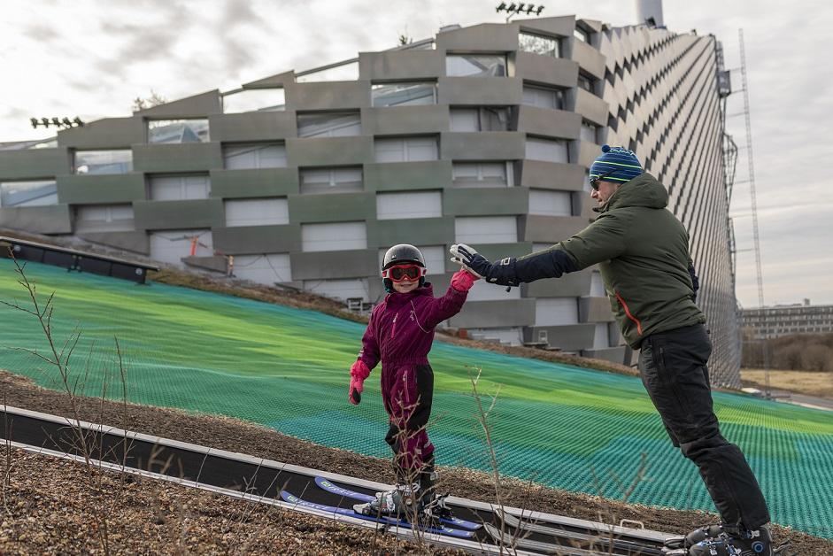 Skispaß für alle. Foto: Copenhill