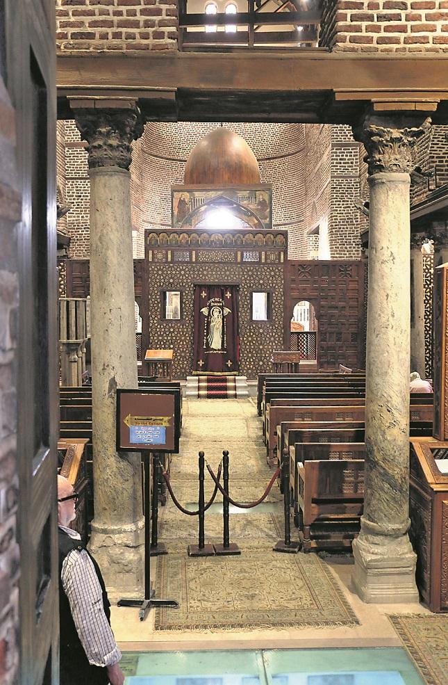 Das koptische Viertel von Kairo ist noch älter als der islamische Kern der Stadt. Sogar die heilige Familie mit Maria, Josef und dem Christuskind hat sich hier einige Monate aufgehalten.