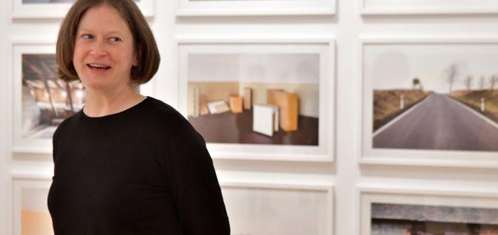 """Pia Pollmanns zeigt bis zum März """"Die Wege der Elisa Kosch"""" in der Remise am Haus Coburg. Zur Ausstellung gibt es ein umfangreiches Begleitprogramm. Foto: Konczak"""