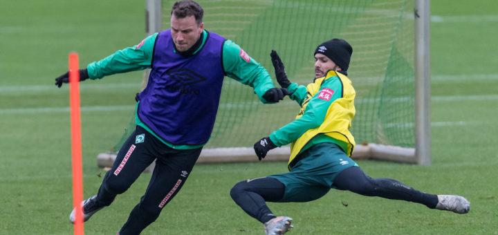 Im Tiefflug Richtung VfL Wolfsburg: Leonardo Bittencourt (rechts). Foto: Nordphoto
