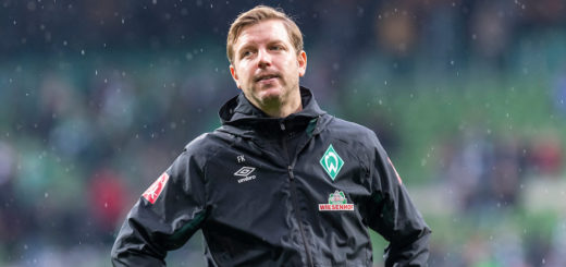 Zuletzt verhagelte der Last-Minute-Ausgleich der Freiburger die Laune von Werder-Coach Florian Kohfeldt. Foto: Nordphoto