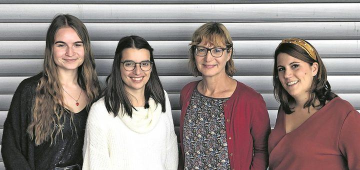 Das Bremer Start-up Yogut möchte dazu motivieren, seinen Joghurt wieder selbst herzustellen: Aniela Schröder, Kim Löhmann, Heike Mühldorfer und Fiona Honstein (v.l.n.r.). Foto: Yo-Gut