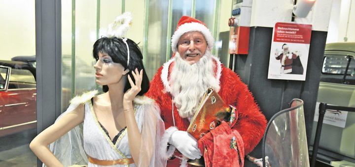 ein weihnachtsmann auf bestellung