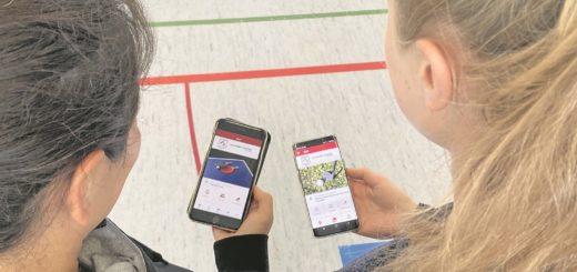 Nicht nur die jüngere Generation profitiert von der neuen App des Vereins.Foto: pv