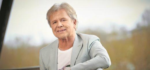 G. G. Anderson (bürgerlich: Gerd Grabowski) ist seit 1981 als Solo-Sänger unterwegs und schrieb schon mehr als 1.000 Songs für andere Musiker.Foto: German Popp