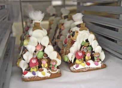 Süße Leckereien bei Knigge. Fotos: Schlie