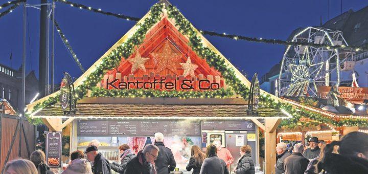 """""""Kartoffel & Co."""" hat die schönste Dachdekoration, sagt eine Jury. Foto: Schlie"""