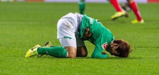Werder lieferte ein Bild des Jammers ab. Foto: Nordphoto