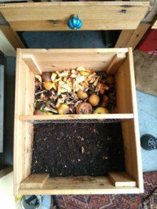 Wenn die Wurmkiste fertig ist, kann sie mit ihren neuen Bewohnern bestückt werden. Diese verwandeln den Biomüll in frische Erde. Foto: Katharina Müller