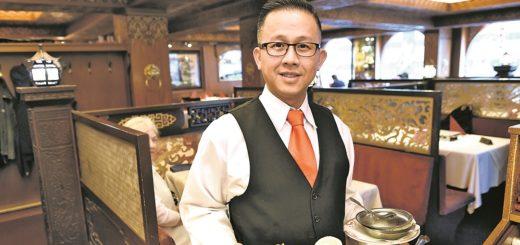 Kiem Hung Luong serviert große Portionen in traditionellem Ambiente.Foto: Schlie