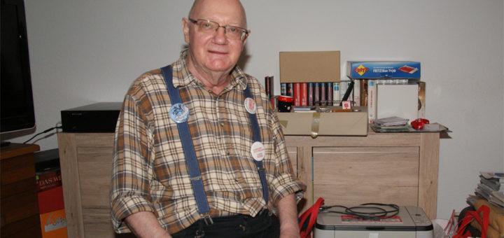 Horst Romahn besucht regelmäßig die Gremiensitzungen im Rathaus.