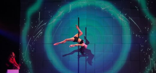 """Die neue Produktion """"Sombra"""" im GOP verbindet Akrobatik mit Tanz und Musik. Foto: Konczak"""