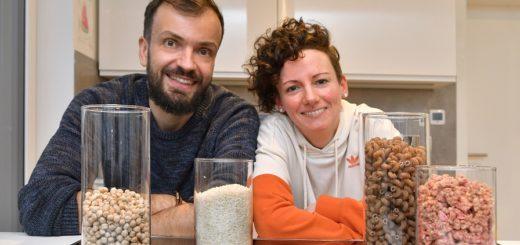 Pia und Tim Sattler vom Unverpacktladen. Foto: Konczak