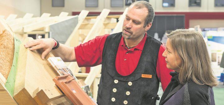 Auf der Hansebau und den Altbautagen erklären Fachleute, was beim Bauen, Sanieren und Gestalten alles zu beachten ist.Foto: Jan Rathke