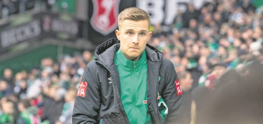 Johannes Eggestein ist derzeit keine Option in Werders Offensivabteilung.Foto: Nordphoto