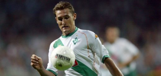 Da war er noch ein junger Bursche: 2004 wechselte Miroslav Klose zu Werder. Solch einen Knipser hätten sie nun gerne wieder, doch der ist kaum zu finanzieren. Foto: Nordphoto