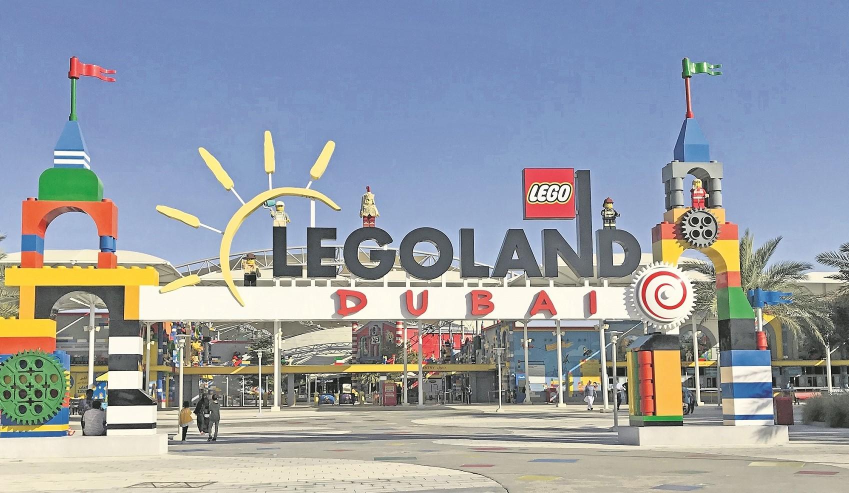 Legoland: Die kunterbunte Welt der Bauklötze.