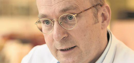 Alexander Friedemann ist seit 2016 am Roten Kreuz Krankenhaus, seit 2020 als Chefarzt.Foto: Schlie