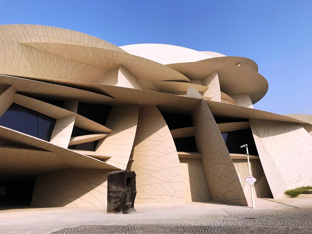 Das neue Nationalmuseum von Doha