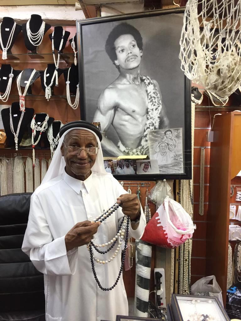 Als Saad Ismail Al Jassim auf Perlensuche ging, hatte Doha noch keine moderne Skyline.