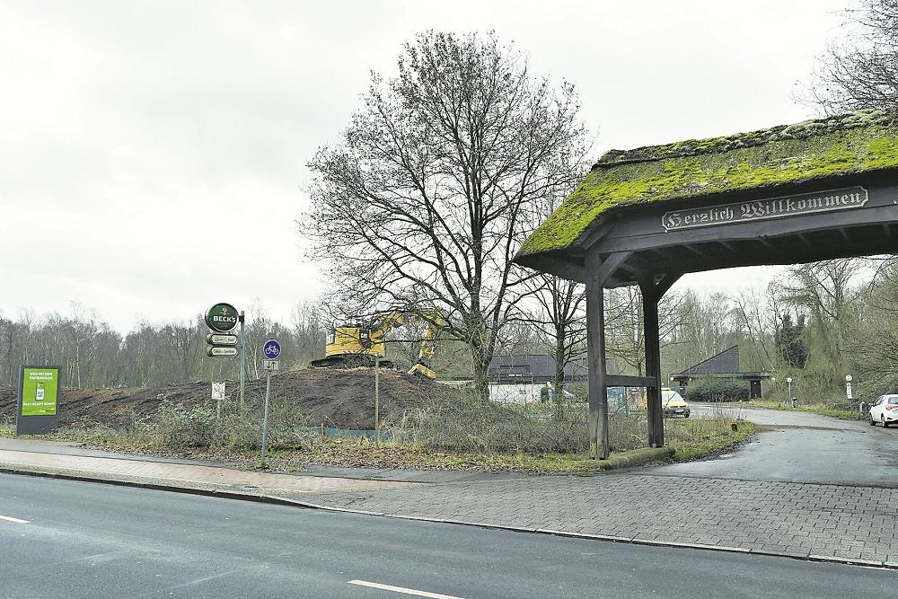 Direkt neben dem alten Campingplatz soll die neue Feuerwache entstehen. Foto: Schlie