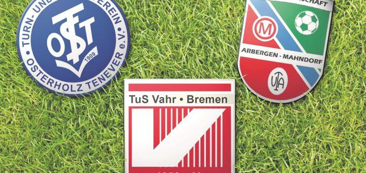 Aus OT Bremen, TuS Vahr und der SG Arbergen Mahndorf könnte ein Großverein mit etwa 5.000 Mitgliedern entstehen.Foto: pv
