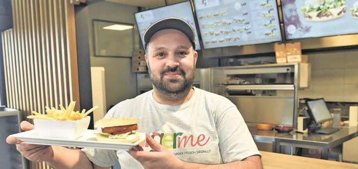 Hat von der Konkurrenz nichts zu befürchten: Burgerme-Chef Erik Garibyan.Foto: Schlie