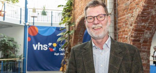 Jürgen Beckstette hat in dieser Woche die Geschäftsführung der VHS Delmenhorst übernommen. Foto: Meyer