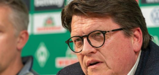 Mahnt zu Besonnenheit: Werder-Präsident Hubertus Hess-Grunewald Foto: Nordphoto