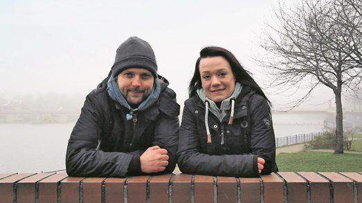 Florian Berendt und Melanie Christians wollen den Bremern Insekten schmackhaft machen.               Foto: Entosus