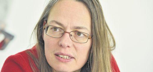 Die Juristin Sascha Karolin Aulepp ist seit 2016 Landesvorsitzende der Bremer SPD, der Bürgerschaft gehört sie seit 2015 an.Foto: Schlie