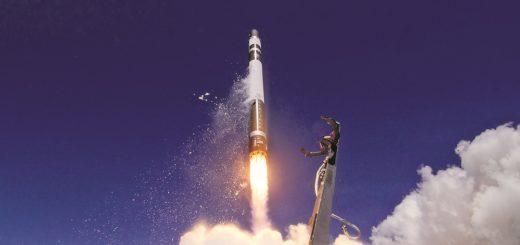 Auch das amerikanische Unternehmen Rocket Lab, das einen Raketenstartplatz in Neuseeland betreibt, produziert eine Trägerrakete, um Kleinsatelliten in den Orbit zu bringen. Foto: Rocket Lab/ Simon Moffatt und Sam Toms