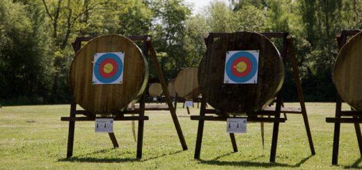 Verspätet aber top-motiviert sind die Bogensportler in die Saison gestartet. Foto: Siebert