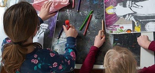 Das Landesmuseum Oldenburg bietet Kindern in Workshops die Möglichkeit Kunst und Kulturgeschichte spielerisch und kreativ zu entdecken.Foto: Sven Adelaide/Landesmuseum für Kunst und Kulturgeschichte