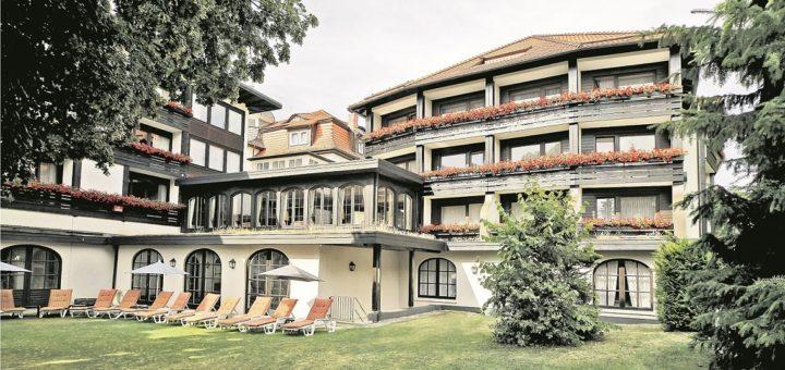 Mühl Vital Resort – im traditionsreichen Wellnesshotel werden sich auch unsere Gewinner herrlich entspannen.Foto: Privat