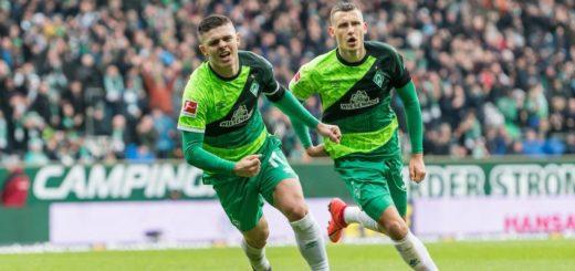Milot Rashica (links) und Maximilian Eggestein könnten Werder eine Menge Geld einbringen. Foto: Nordphoto