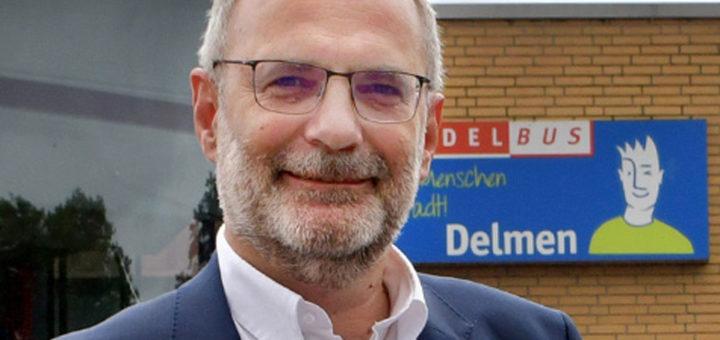 Carsten Hoffmann ist Geschäftsführer der Delbus. Foto: Konczak