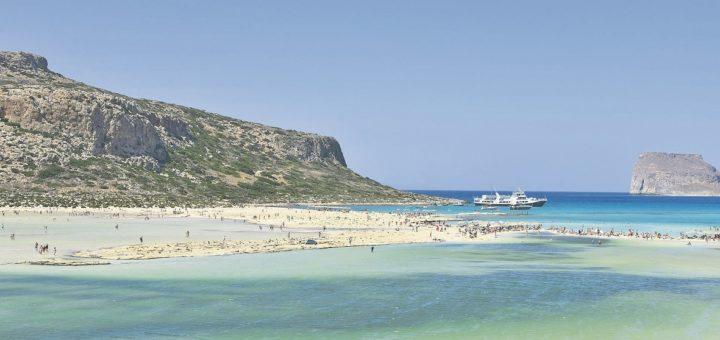 Ein Hauch von Karibik im tiefsten Süden der Ägäis: Der Traumstrand Balos Beach an der nordwestlichen Spitze von Kreta. Foto: pixabay.com