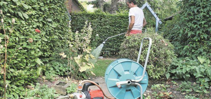 Grundwasser sollte nur zum Wässern des Gartens genutzt werden. Foto: Holz