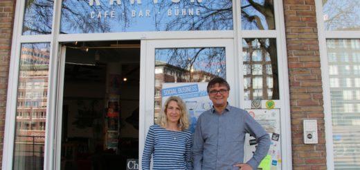 Andrea Birr und Mark Christiansen setzen sich dafür ein, dass ein Grundstück für eine Tiny House-Gemeinschaft gefunden wird. Foto: Paar