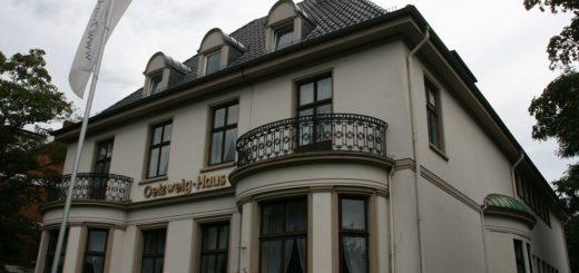 Das Oelzweighaus beherbergt Freimaurerlogen. Am 13. September wird ein Video-Rundgang angeboten.Foto: Holz