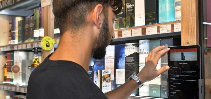 Das neue Informations-Modul liefert umfangreiche Infos zu den verschiedenen Whiskys. Es ist leicht bedienbar und übersichtlich gestaltet. Foto: Konczak