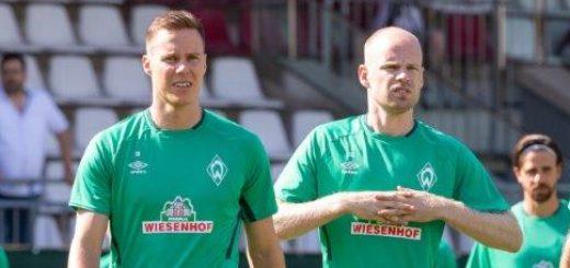 Niklas Moisander (links) und Davy Klaassen besitzen großes Standing innerhalb der Mannschaft. Foto: Nordphoto