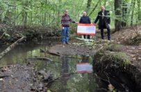 Die Landessparkasse zu Oldenburg unterstützt den Fischereiverein Delmenhorst mit 5.000 Euro. Foto: Konczak