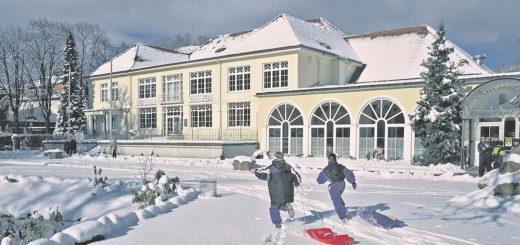 Das traditionsreiche Wellnesshotel Mühl Vital Resort in Bad Lauterbach verspricht Entspannung vom Feinsten. Davon werden sich auch unsere Gewinner überzeugen.Foto: Mühl Vital Resort