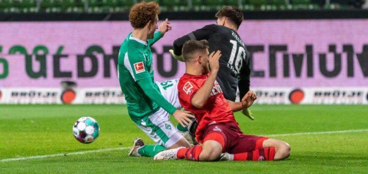 Stürmer Josh Sargent (links) ging gegen Köln leer aus. Foto: Nordphoto